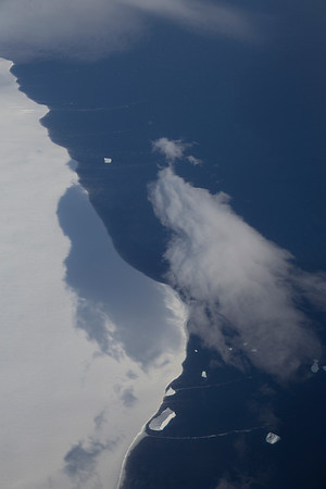 The edge of Burke Island