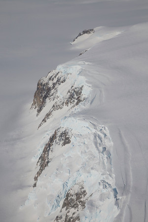 Cliffs between Land and White Glaciers