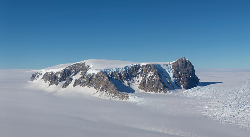 Mount McCoy, bordering Land Glacier
