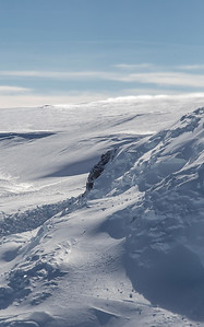 Möll Spur rock formation on Mt. Takahe