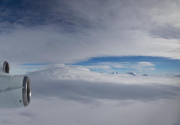 Mt. Murphy and surrounding peaks from Haynes Glacier