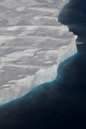 The Pine Island Ice Shelf edge