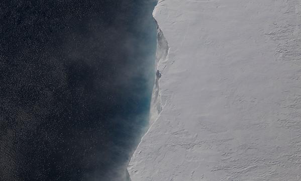 The Pine Island Ice Shelf Terminus