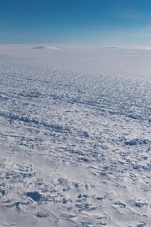 Along the Pine Island Glacier shear margin