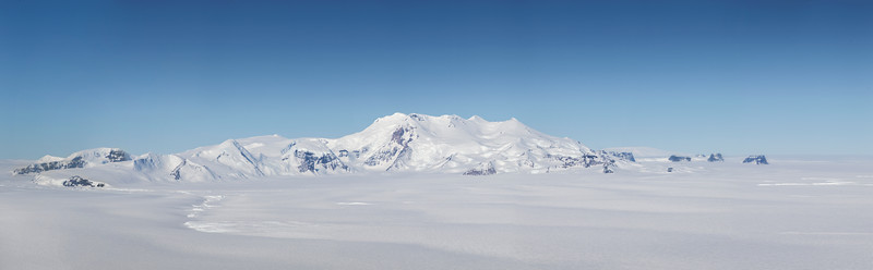 Mount Murphy from over Smith Glacier