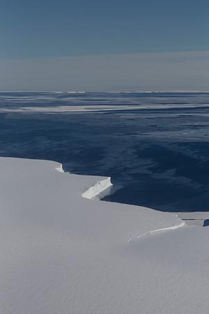 The Getz Ice Shelf terminus