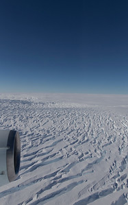 Crevasses on the Getz Ice Sheet