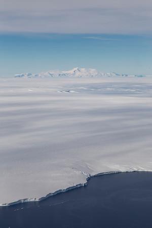 Mt. Murphy over Dotson Ice Shelf