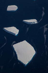 Icebergs near Dotson Ice Shelf