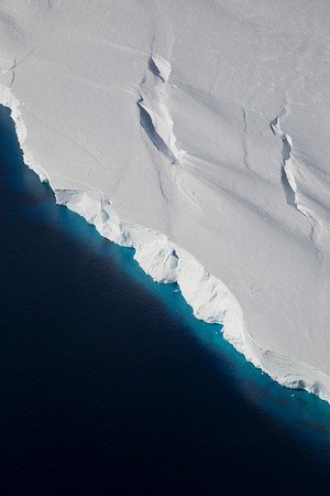 Front of the Getz Ice Shelf
