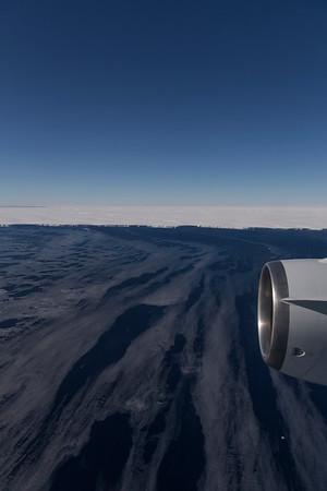 Sea ice in the Amundsen Sea off the Getz Ice Shelf
