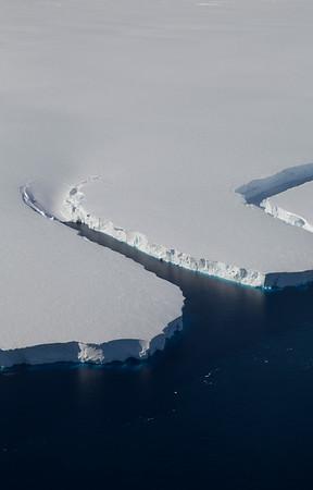 Edge of the Getz Ice Shelf