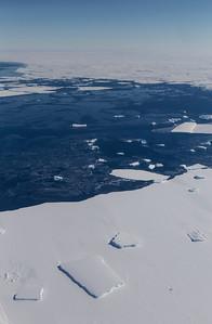 Abbot Ice Shelf with sea ice