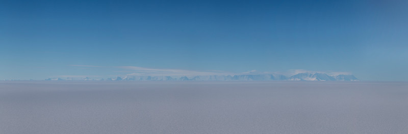 The Ellsworth Mountains with Vinson Massif