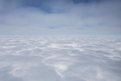 Cloud shadows on Thwaites Glacier