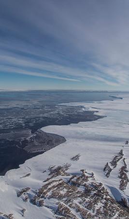 Sea ice in Hull Bay