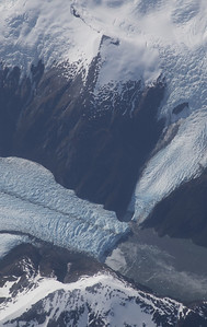 A tide-water glacier in southern Chile, on our transit south