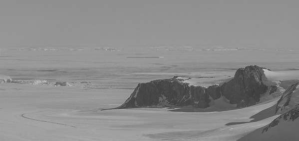 Oehlenschlager Bluff and Hull Glacier
