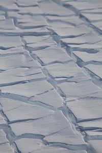 Crevasses on Hull Glacier