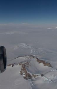 Kouperov Peak in the Demas Range with Mount Berlin in the distance
