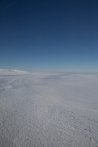 Flow patters on Hull Glacier