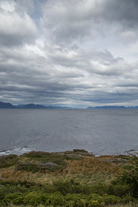 View south from the southernmost lighthouse
