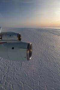 Crevasses on Bailey Ice Stream