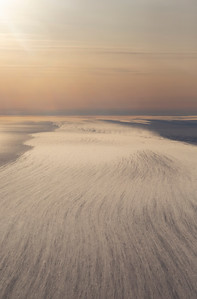 Blowing snow across Slessor Glacier