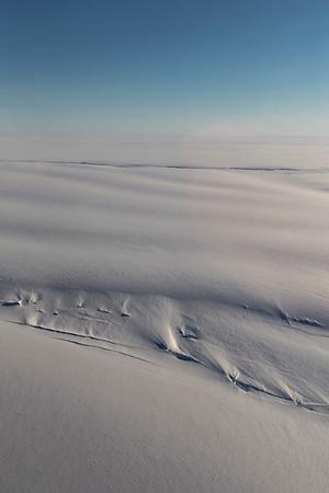 Stancomb-Wills glacier crevasses and surface undulations