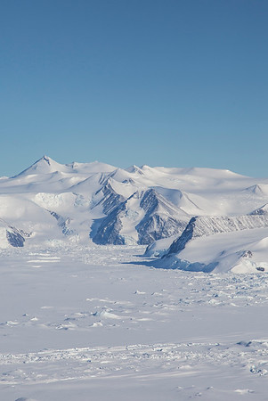 Looking at the base of Croom Glacier