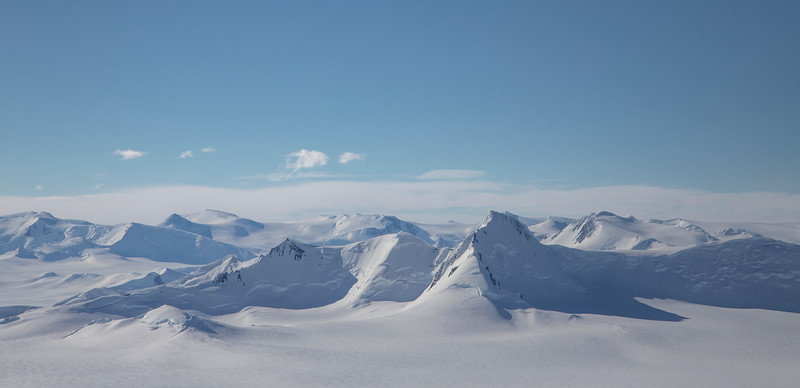 The Bristly Peaks, aside Fleming Glacier