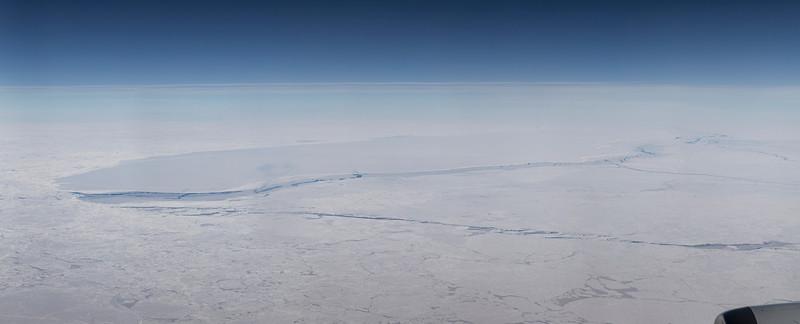 Tabular iceberg A68 in the Weddell Sea