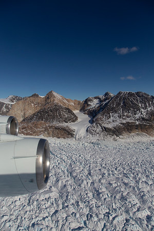 A small tributary on lower Crane Glacier