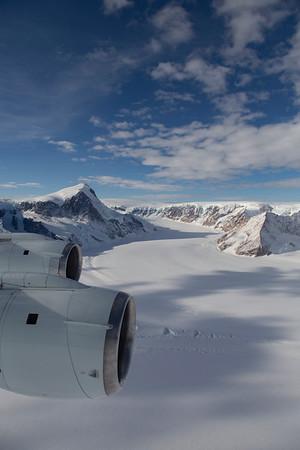 Morrison Glacier and Bastion Peak