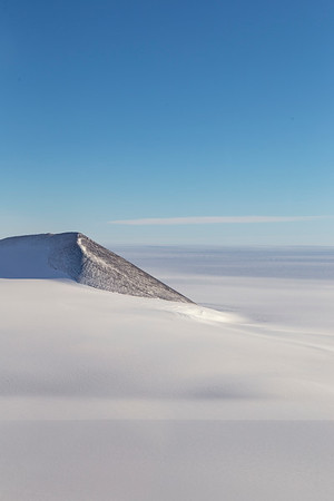 The edge of Mount Lowe in the Shackleton Range