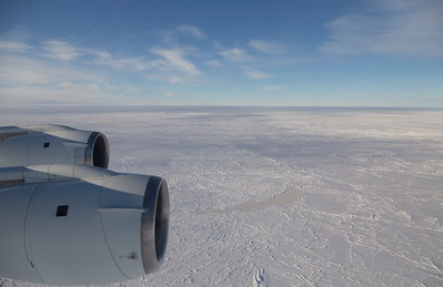 Ridged sea ice in the central Weddell Sea