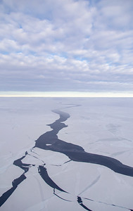 A lead in the eastern Weddell