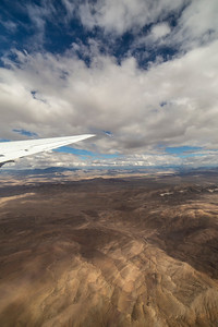 Over the Mojave National Preserve