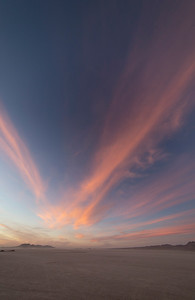 El Mirage at sunset