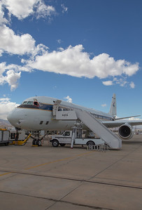 The NASA DC-8 on the Palmdale fueling ramp