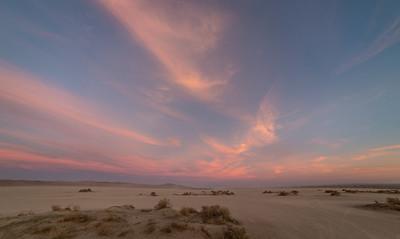 The sky opposite sunset, across El Mirage