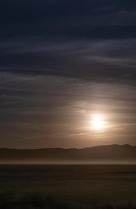 Moonrise over El Mirage
