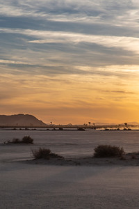 The survey van out near the edge of the sunset on the west end of El Mirage