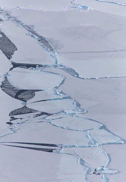 Recent deformation events: new leads, ridges and flooded ice in Fram Strait