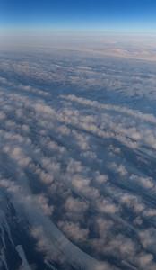 Thin sea ice streaks in the North Water Polynya