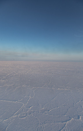 Sea ice at the North Pole this year