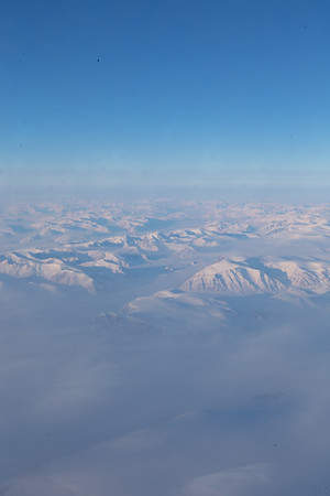 Glaciers and mountains in SE Ellesmere Island