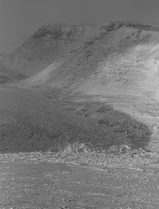 Close-up of a Petermann Glacier tributary