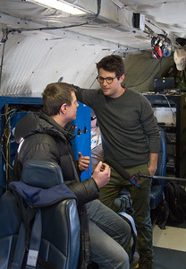 Jacob interviewing Nathan about IceBridge
