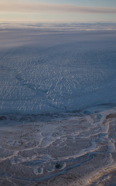 The northern edge of Humboldt Glacier